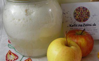 Jednoduchý ovocný kefír